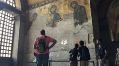 Hagia Sophia Istanbul 16 Stock Footage