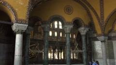 Hagia Sophia Istanbul  19 Stock Footage