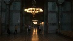 Hagia Sophia Museum 20 Stock Footage