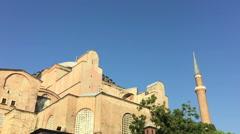 Hagia Sophia Istanbul  22 Stock Footage