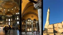 Hagia Sophia Museum 23 Stock Footage