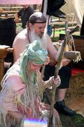 Renaissance Festival, Koprivnica, Croatia, 2015, old picturesque contributors. - stock photo