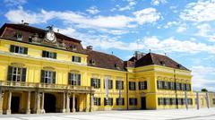 historical palace - stock photo