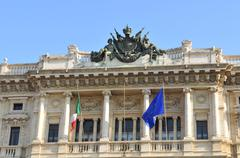 Palace of Justice, Rome Stock Photos