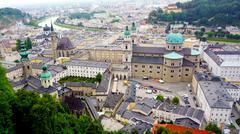Scenery of Salzburg Old Town city Kuvituskuvat