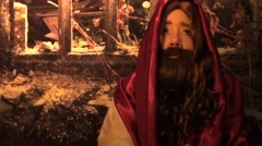 Jesus Talking to God Stock Footage