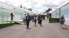UFA RUSSIA 2015 BRICS SCO SUMMITC Stock Footage