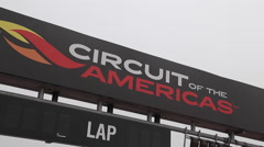 COTA Circuit of the Americas Stock Footage