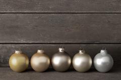 Christmas tree balls wood retro Kuvituskuvat