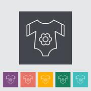 Stock Illustration of Baby clothes