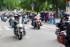 Palanga, Lithuania - 01 August, 2015 american spirit  2015 Stock Photos