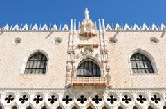 Doge's Palace, Venice - stock photo
