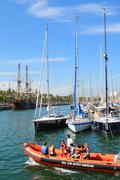 Barcelona Nautical Club - stock photo