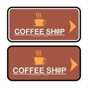 COFFEE SHOP Stock Illustration