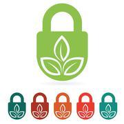 Protect environment web icon - stock illustration