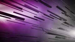 Channel purple Stock Footage