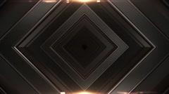 Diamond tunnel Stock Footage