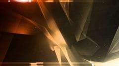 quantum amber orange - stock footage