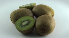 Kiwi fruit batch (FULL HD)  Stock Footage