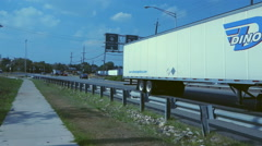 Route  440 Connects to Route 78 North to New York City 4K Stock Footage