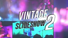 Vintage Slideshow II - Apple Motion 5 and Final Cut Pro X Template Stock After Effects