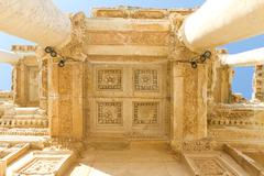 Library of Celsus in Ephesus, Turkey - stock photo