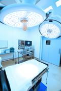 Stock Photo of equipment and medical devices in modern operating room