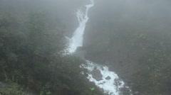 Waterfalls in juneau - stock footage