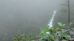 Waterfalls in juneau Stock Footage