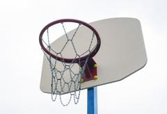 Basketball backboard Stock Photos