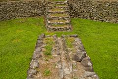 Tulipe Archaeological site museum, Ecuador - stock photo