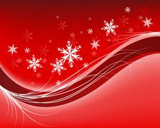 Stock Illustration of winter frame background
