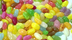 Jelly Beans (seamless loopable) Stock Footage