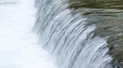 Video of Banias Spring creek shot in Israel. Stock Footage