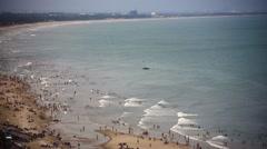 Vung Tau sea beach Stock Footage
