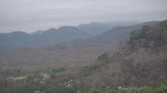 Jungle and mountains near Luang Prabang, Laos Stock Footage
