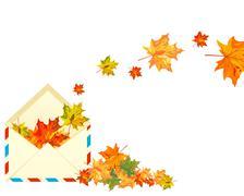Stock Illustration of Autumn maple