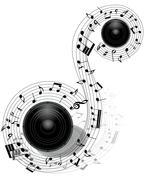 Musical Stock Illustration