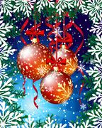 Christmas - stock illustration