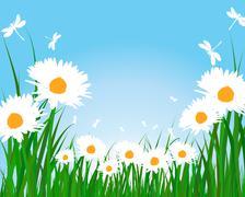 Stock Illustration of Summer meadow