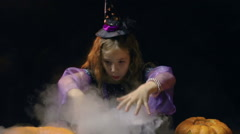 Halloween Witchcraft Stock Footage