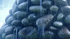 Fountains made of stone Stock Footage