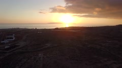 Sunset south of Tenerife Island Stock Footage
