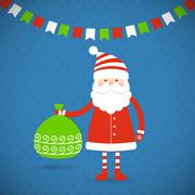 Santa Claus - stock illustration