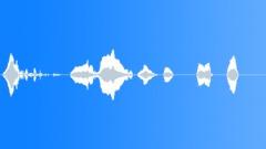 Mumbling 04 - sound effect