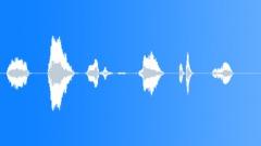 No, Denial Grunts 01 - sound effect