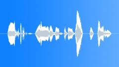 No, Denial Grunts 03 Sound Effect