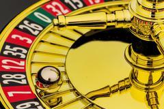 Roulette gambling in casino Kuvituskuvat