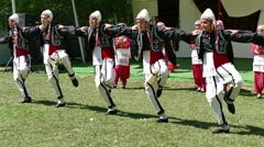 Turkish wedding dance. Stock Footage