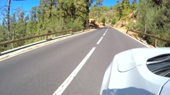 Driving in Tenerife Stock Footage